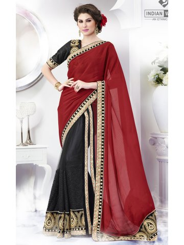 https://d38jde2cfwaolo.cloudfront.net/148981-thickbox_default/designer-black-red-party-wear-saree.jpg