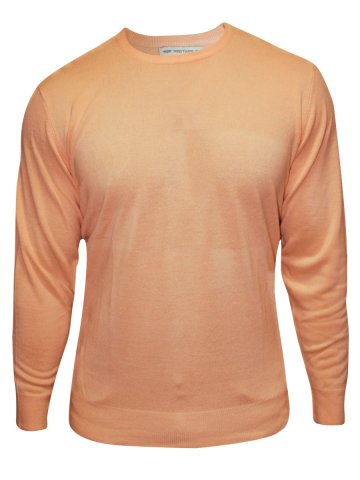 Red Tape Peach V Neck Sweater at cilory
