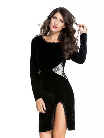 https://static1.cilory.com/197365-thickbox_default/black-long-sleeve-velvet-midi-dress.jpg