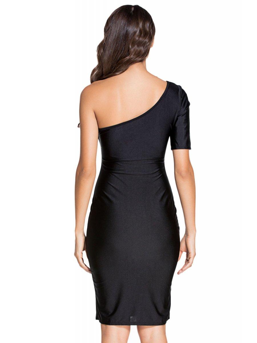 Sale black bodycon dress knee length wedding dress karen scott red