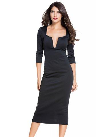 https://static5.cilory.com/198330-thickbox_default/black-plunging-v-neck-party-midi-dress.jpg
