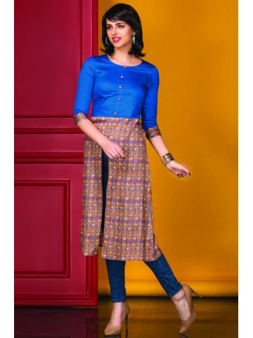 https://static1.cilory.com/213058-thickbox_default/sattire-blue-brown-cotton-kurti.jpg