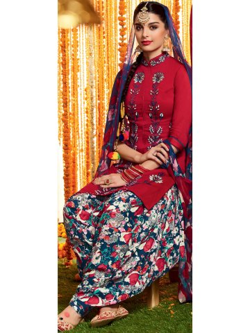 https://static6.cilory.com/213083-thickbox_default/heer-red-blue-duo-pure-cotton-semi-stitched-suit.jpg