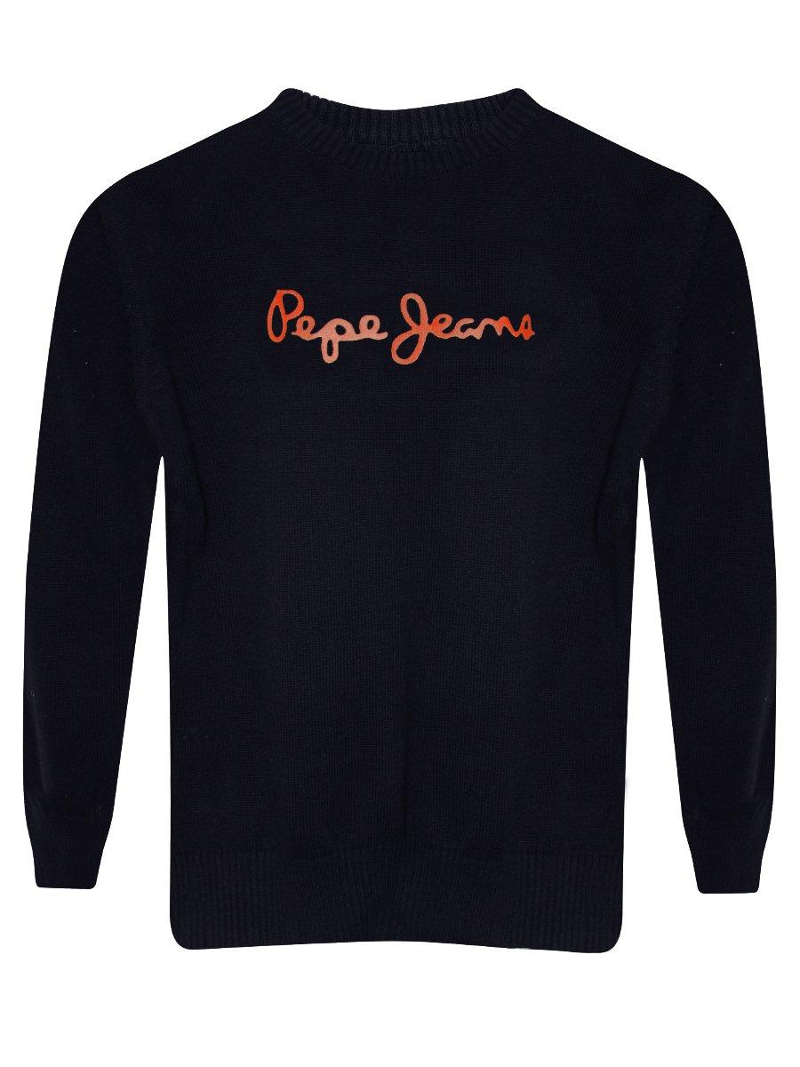 pepe jeans kids sweater pibk0002479 4 navy. Black Bedroom Furniture Sets. Home Design Ideas