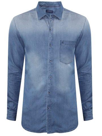 84872c6c81  Numero Uno Pure Cotton Light Blue Denim Shirt.  https   static8.cilory.com 284023-thickbox default numero-