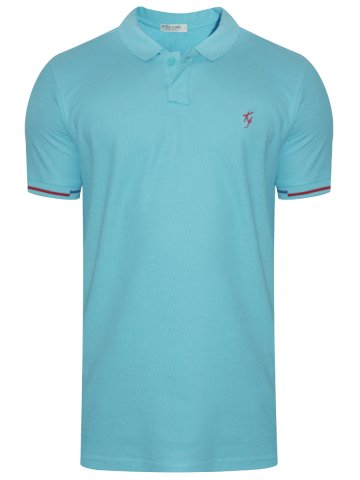 b1d1024b6158 >Killer Mint Blue Tipping Polo T-Shirt.  https://static4.cilory.com/288318-thickbox_default/killer-