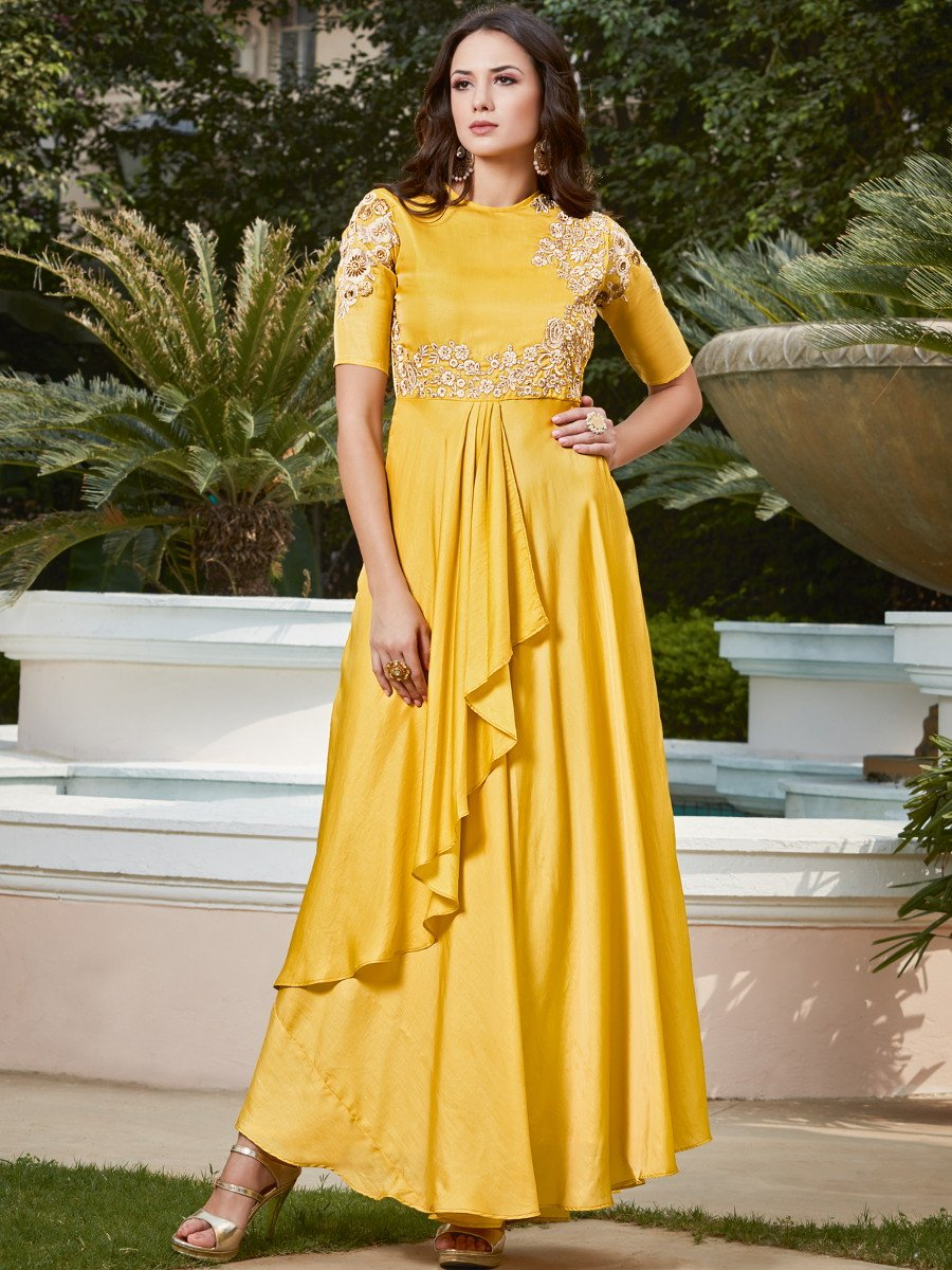 Yellow Gown