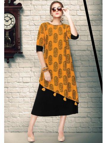 https://d38jde2cfwaolo.cloudfront.net/308562-thickbox_default/vastrikaa-mustard-black-rayon-cotton-printed-kurti.jpg