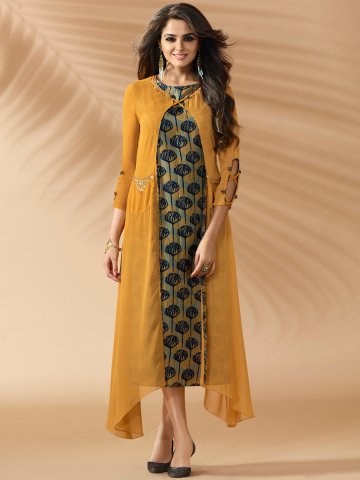 https://static4.cilory.com/324222-thickbox_default/nitya-mustard-double-layered-embroidered-kurti-with-robe.jpg