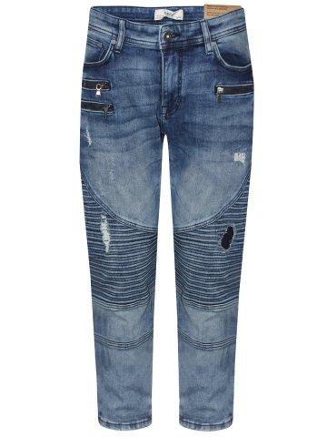 d514c762a81 Men.   Jeans.   Slim Fit Jeans.  Celio Blue Rugged Slim Stretch Jeans.  https   static5.cilory.com 331756-thickbox default celio-