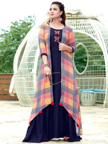https://static1.cilory.com/367922-thickbox_default/mittoo-navy-blue-kurti-with-multicolor-robe.jpg
