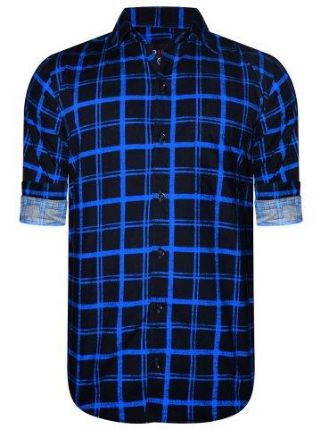 https://static8.cilory.com/374857-thickbox_default/nologo-navy-royal-blue-casual-checks-shirt.jpg