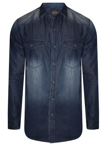 https://static2.cilory.com/382914-thickbox_default/numero-uno-pure-cotton-dark-blue-denim-shirt.jpg