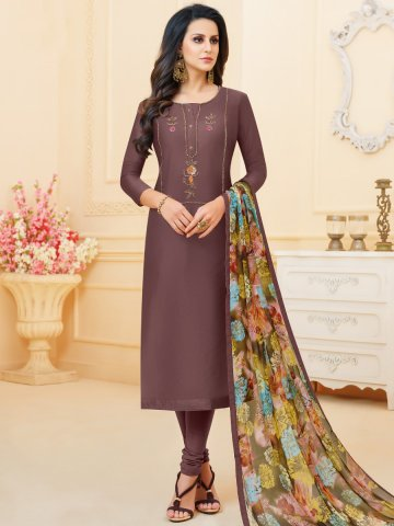 https://static4.cilory.com/383887-thickbox_default/coffee-chanderi-cotton-semi-stitched-suit.jpg