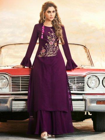 https://static8.cilory.com/396411-thickbox_default/arihant-purple-bell-sleeves-kurti.jpg
