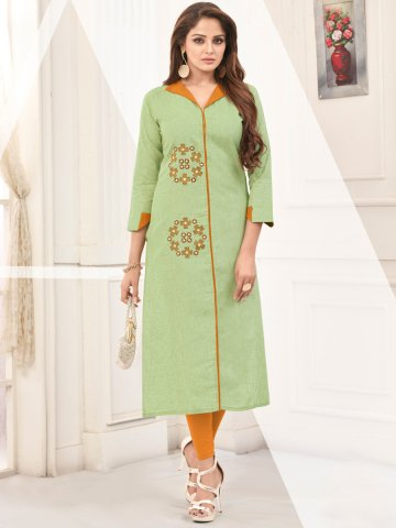 https://static.cilory.com/399475-thickbox_default/green-embroidered-cotton-kurti.jpg