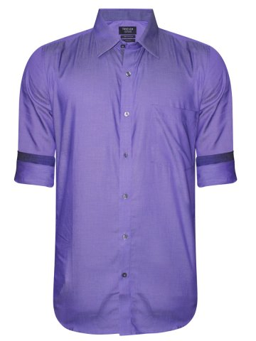 Turtle Pure Cotton Light purple Shirt at cilory