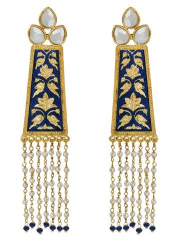 https://static4.cilory.com/407216-thickbox_default/golden-navy-meenakari-work-earrings.jpg