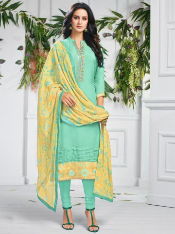 https://static6.cilory.com/407667-thickbox_default/green-chanderi-cotton-semi-stitched-suit.jpg