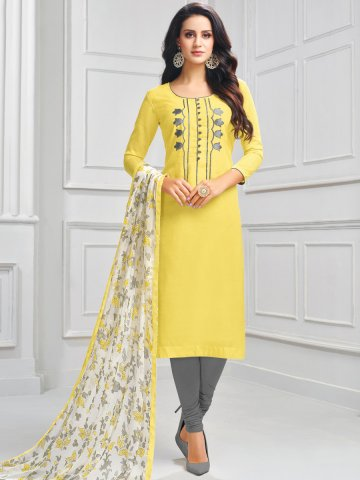 https://static3.cilory.com/407685-thickbox_default/lemon-chanderi-cotton-semi-stitched-suit.jpg