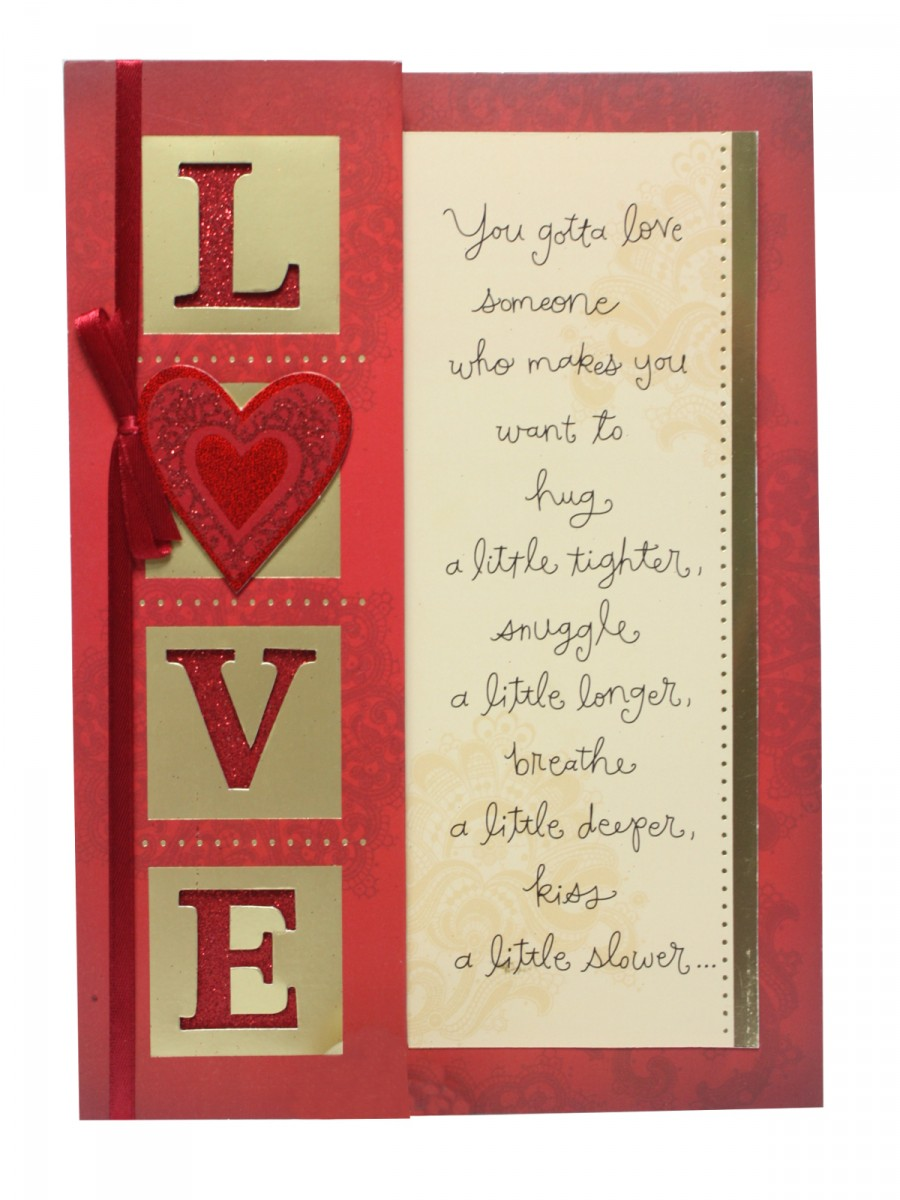 Valentines Day Greeting Card By Archies Acjac24 – Archies Valentine Cards