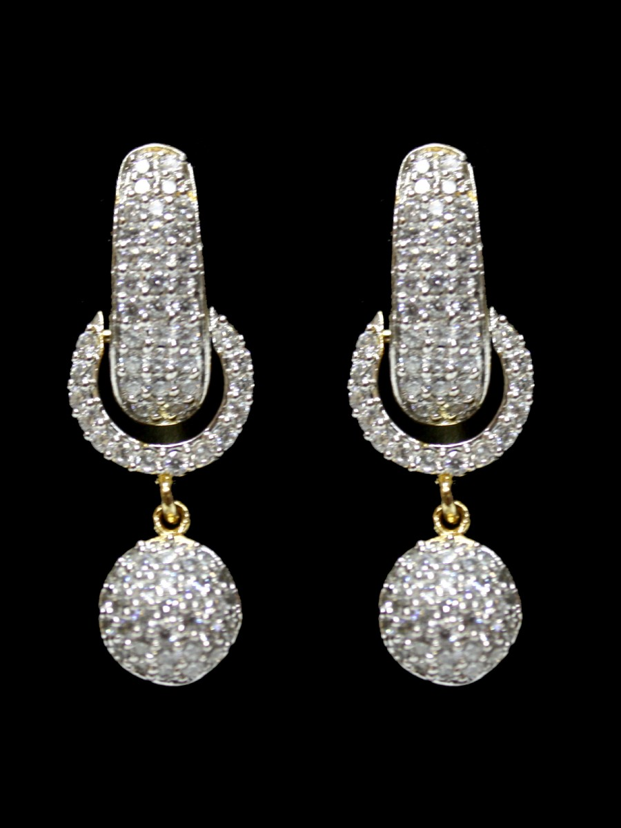 omna jewellery the diamond earrings