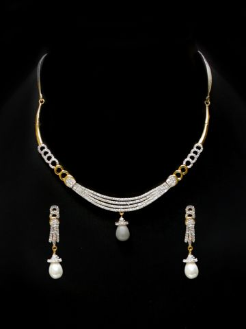 8645eb497 ... American Diamond Necklace Set.  https   static6.cilory.com 96080-thickbox default venicia-